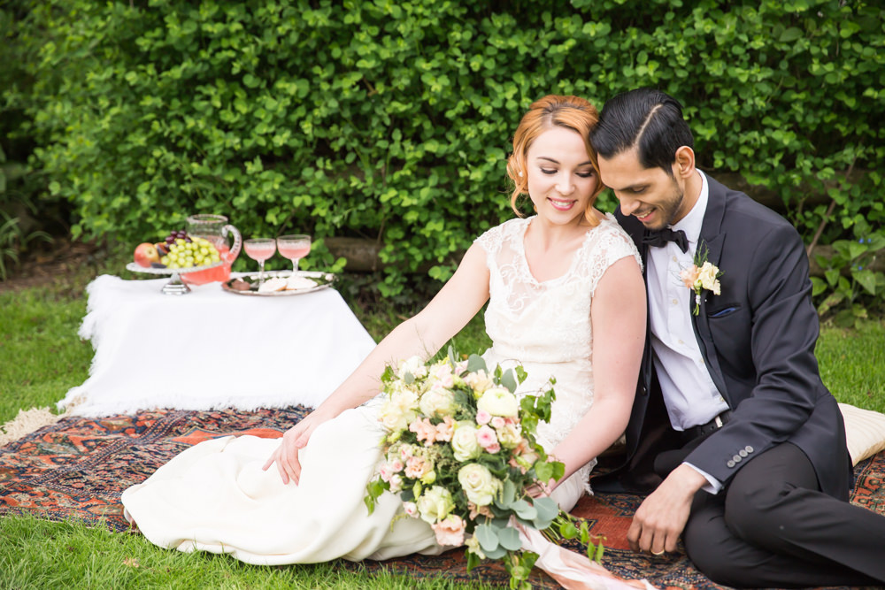 Traditional English Country House Wedding, created by Kimberley Rose Designs