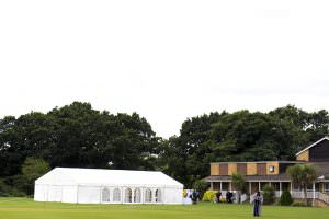 considerations for a marquee wedding