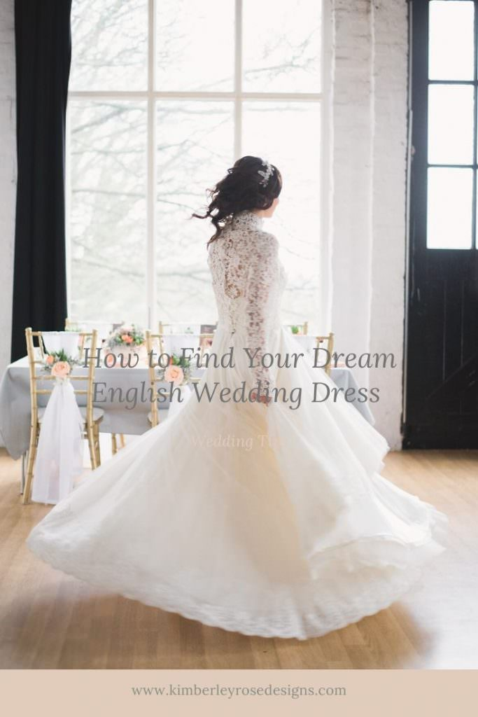 how to find your dream english wedding dress