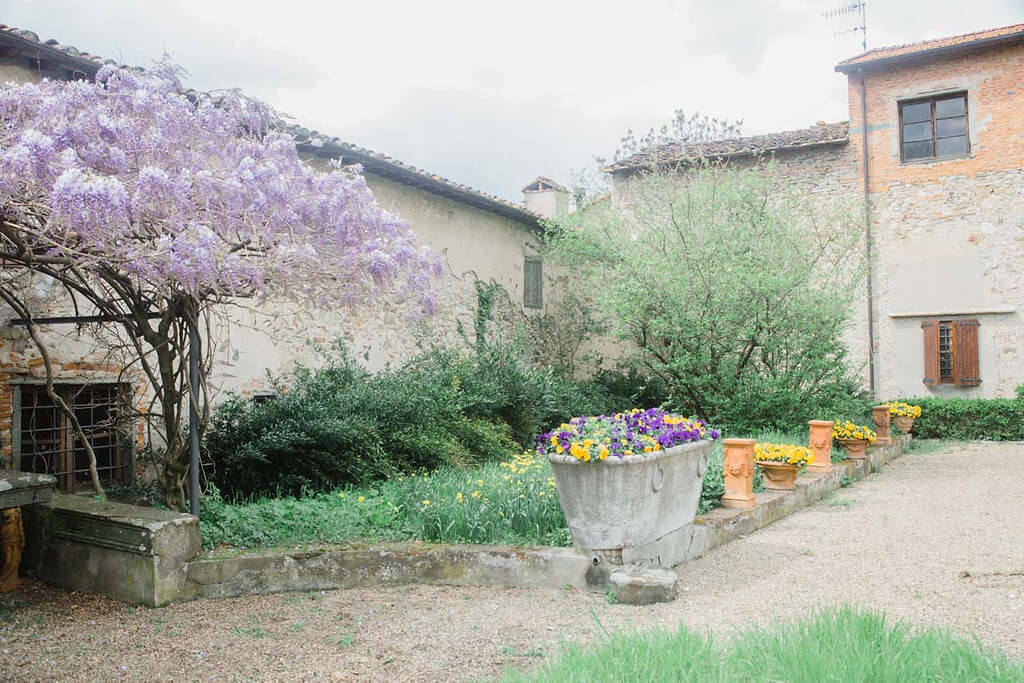 different spots at villa pazzi