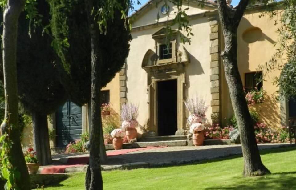 tuscany wedding venue il falconiere