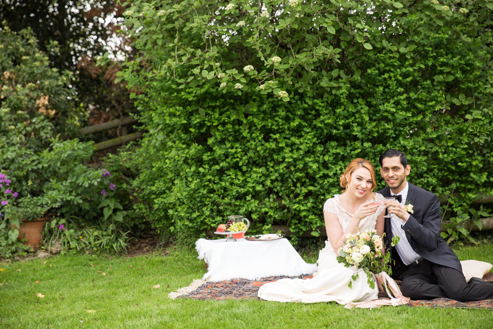 Traditional English Country Wedding, created by Kimberley Rose Designs