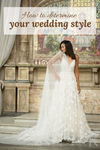 how to determine your wedding style tips from Kimberley Rose Designs