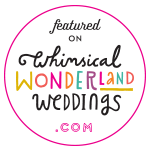 Kimberley Rose Designs featured on whimsical weddings