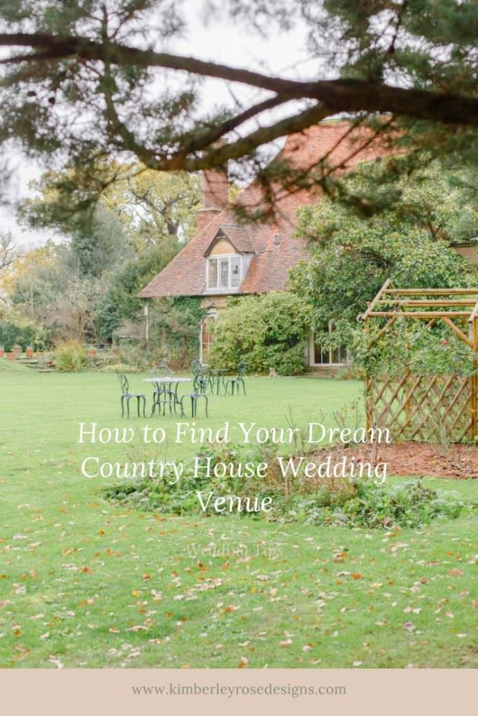 How to Find Your Dream Country House Wedding Venues for your UK destination wedding