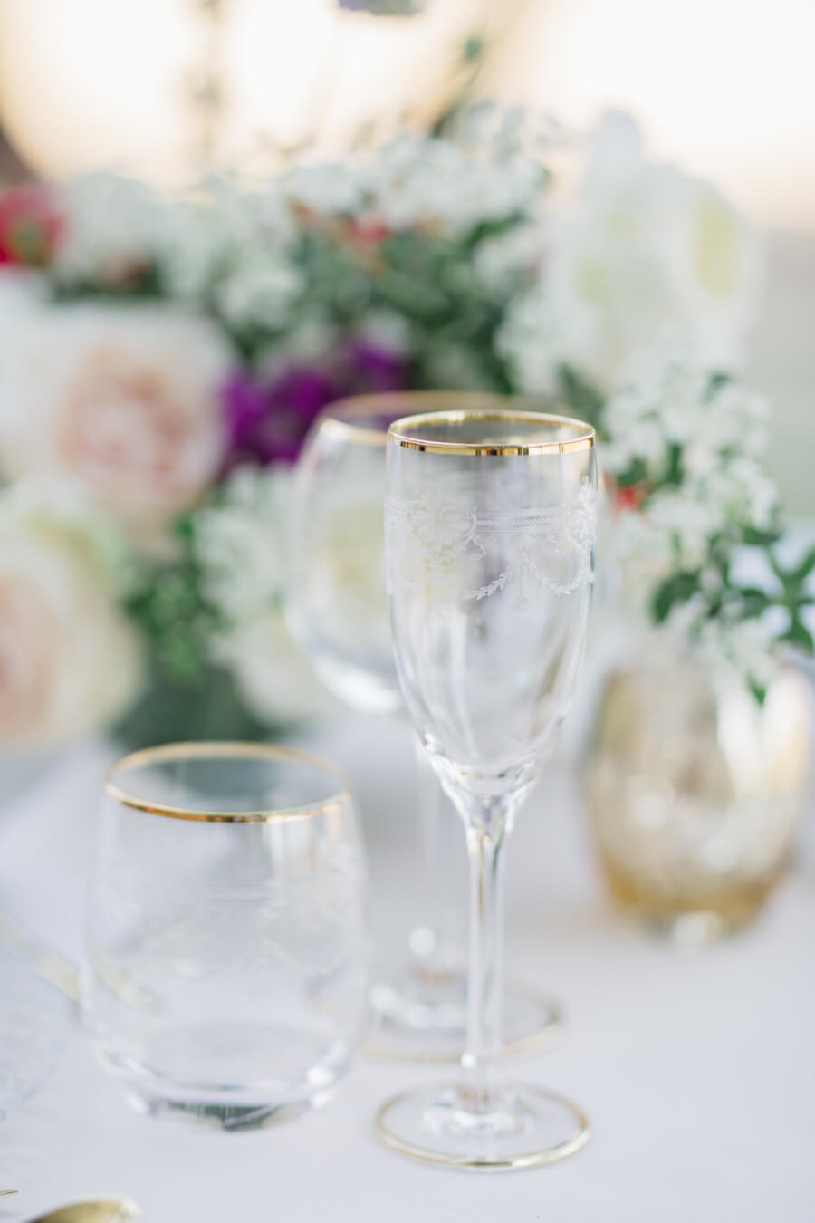 beautiful wedding decor by luxury wedding planner UK, Kimberley Rose Designs