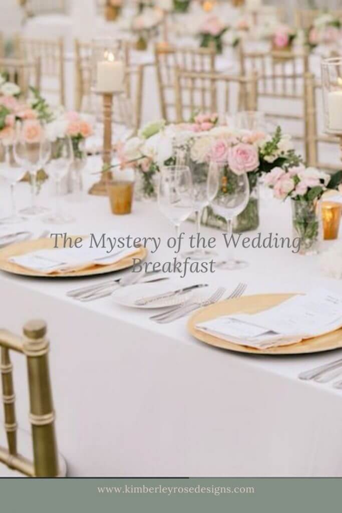 the mystery of the wedding breakfast