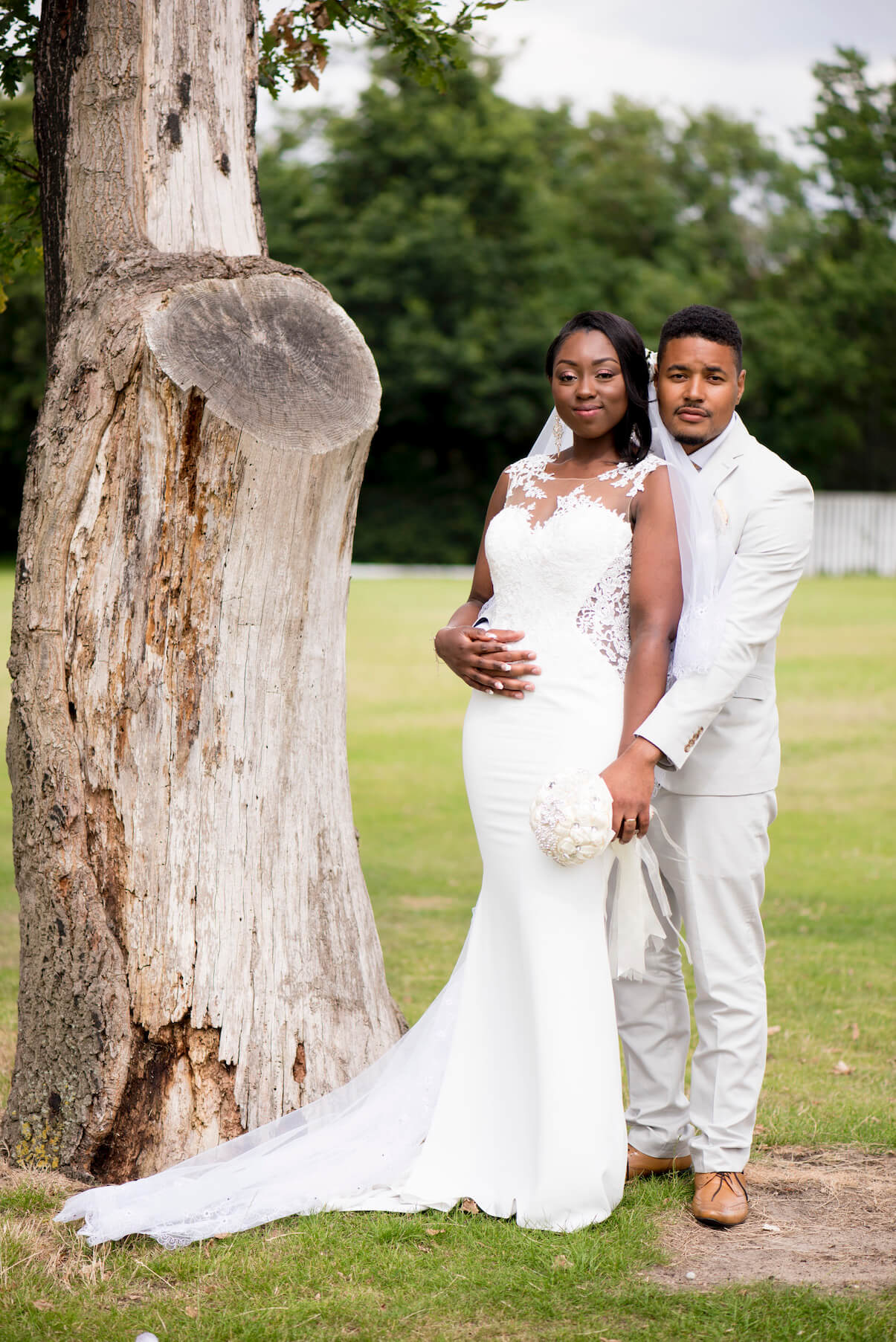 outdoor wedding ceremony at dulwich park