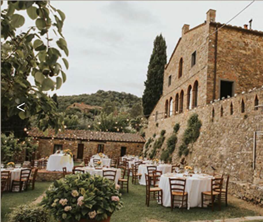 tuscany wedding venue montelucci